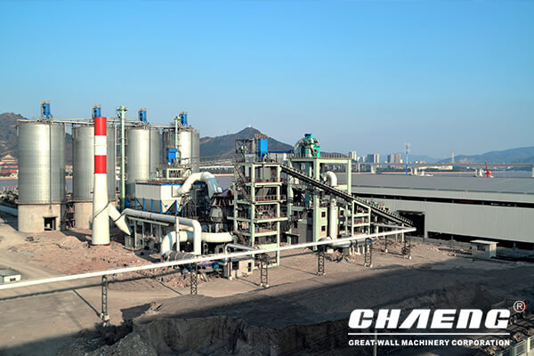 Shanghai Baosteel Ningbo Ziheng's 1500000t/a composite powder production line