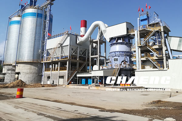 Hebei Aosen 2×600000t/a slag powder production line EPC project