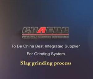 slag grinding plant process (ggbfs production line)