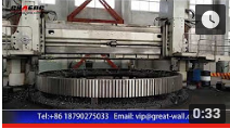 chaeng provide 1-150 steel casting,slag pot,large gear and so on