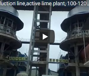 lime production line,active lime plant,100-1200t/d lime Calcining plant