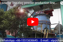 slag powder line,slag powder production line,ggbs production line,slag handling