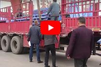 Chaeng uzbekistan rotary kiln delivery video