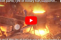 rotary kiln parts(Tyre of Rotary Kiln,Supporting Roller,Girth Gear)
