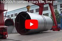 chaeng 10-200t/h cement rotary kiln, lime rotary kiln