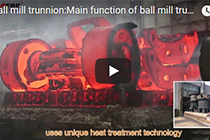 Ball mill trunnion:5-30 t,Material:ZG230-450
