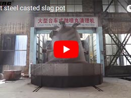 Chaeng 1-120t steel casted slag pot