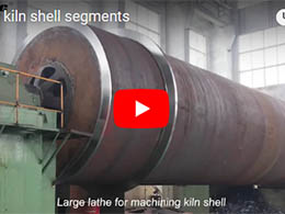 Rotary kiln shell segments