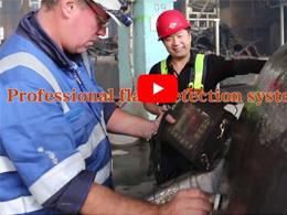 1-120t steel casted slag pot