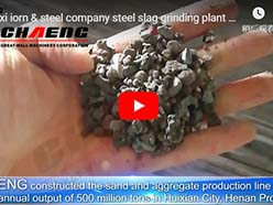Jinxi iorn & steel company steel slag grinding plant with the capacity of 600,000 tons per year