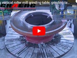 chaeng vertical roller mill grinding table, grinding table of vertical mill