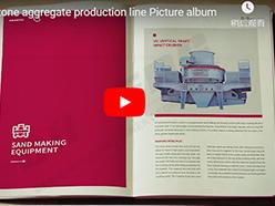 Sandstone aggregate production line Picture album