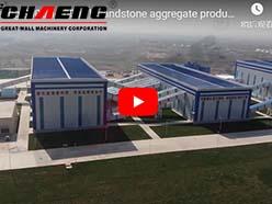 chaeng 300t/h-1000t/h sandstone aggregate production line