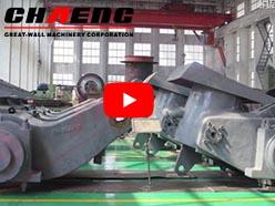 chaeng vertical mill parts,grinding table,grinding roller,rocker arm