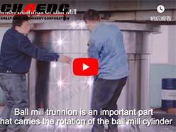 Trunnion Bearings of Ball Mill