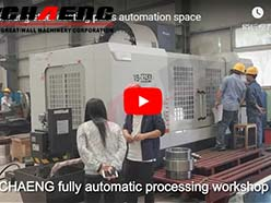 chaeng steel casting parts automation space